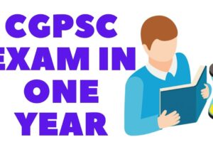 How can you prepare for cgpsc exam? In just 1 year | 4th one is awesome