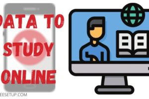 How much data you need to study online?