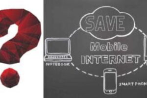 5 Tips to save mobile internet when connected to a laptop.