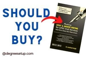 Should You Buy An Answer Writing book For Upsc and State Services Exams?