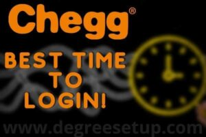 Best Time To Log In Chegg | Solve More Than 10 Questions Per Day!